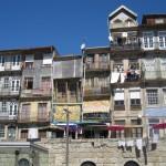 Altstadt Porto-vom Douro aus gesehen